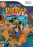 Pirates Plund Arrr, nintendo, wii, game, screen, image, screenshot