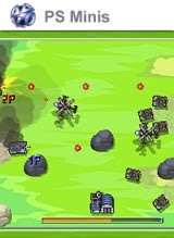 Charge! Tank Squad!, game, screen