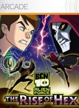 Ben 10 Alien Force: The Rise of Hex, puzzle,game, box, art, screen, image