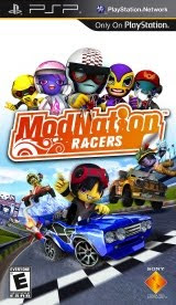 ModNation Racers, sony, box, art, cover, image