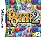 Puzzle Quest 2, game, video, nintendo, ds,screen, image, box, art