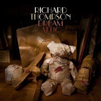 Richard Thompson,Dream Attic, cd, music, album, cover, new