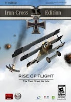 Rise of Flight, Iron Cross Edition, pc, game, box, art