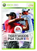 Tiger Woods PGA Tour 11, game, video, xbox, box, art