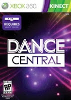 Dance Central, xbox, game, box, art, MTV, Games