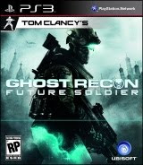 Tom Clancy's Ghost Recon: Future Soldier, box, art, cover, image