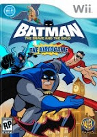 Batman: The Brave and the Bold, game, wii, box, art, screen