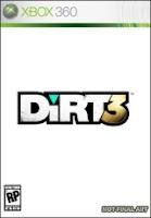 Dirt 3, Racing, Video, game, xbox, box, art