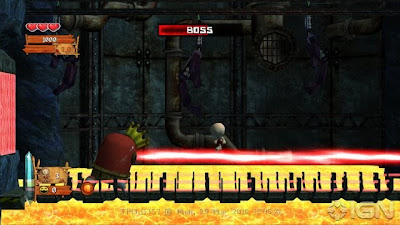 Bonk: Brink of Extinction, game, screen, sony, ps3