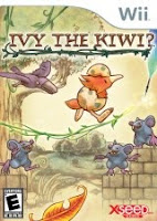 Ivy the Kiwi, game, wii, nintendo, box, art