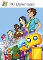 Puzzle Bots Adventure, game, box, art, pc