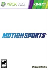 Motion Sports, xbox, box, art