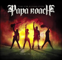 Papa Roach Time for Annihilation, new, album, cd, box, art, audio