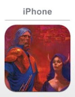 Phantasy Star 2, apple, iphone, game, screen