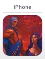 Phantasy Star 2, apple, iphone, game, screen