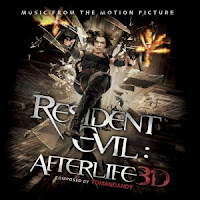 Resident Evil 4, Afterlife, cd, soundtrack, audio, movie, film, box, art