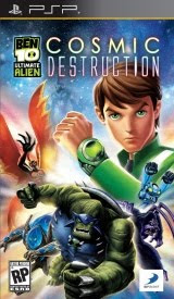 Ben 10: Ultimate Alien Cosmic Destruction, sony, psp