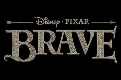 Brave, Disney, animation, movie, logo, poster