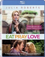 Eat Pray Love, Julia Roberts, blu-ray, box,art
