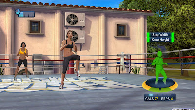 The Biggest Loser: Ultimate Workout, game, screen, xbox