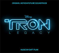 Daft Punk, Tron Legacy, soundtrack, cd, album, cover