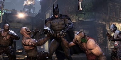 Batman, Arkham City, game, screen