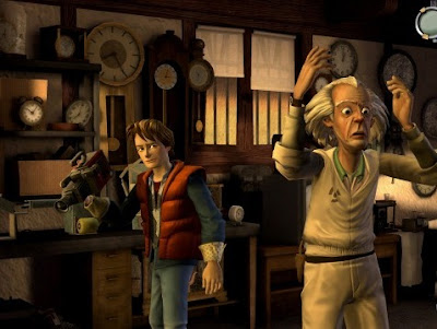 Back to the Future, game, sony, ps3, screen