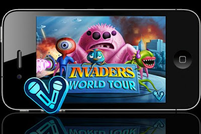 Invaders World Tour, game, screen