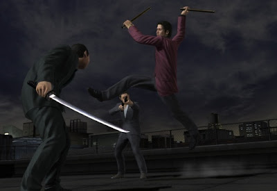 Yakuza 4, sony,ps3, screen, game