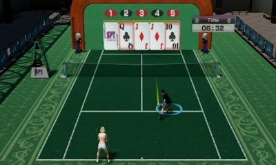 Virtua Tennis 4, game, screen, nintendo, wii