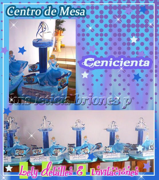 Torta de Cenicienta |Ideas y decoración de fiestas