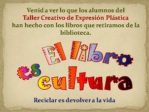 El libro es-cultura