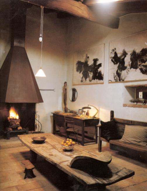 Delight by design home tour elsa peretti - Decoracion salon rustico ...
