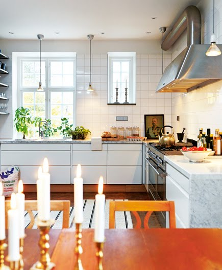 Industrial Chic Kitchen: Delight By Design: Eat-in Kitchen {industrial Chic}
