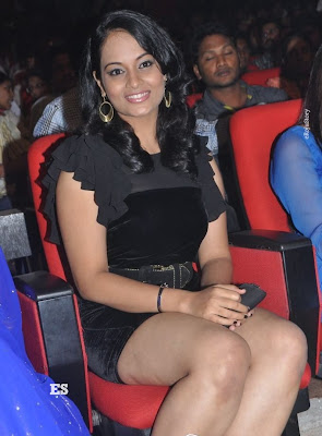 Suja Hot Stills at Nagavalli Audio Launch sexy stills