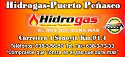 HIDROGAS EL GAS QUE DURA MAS
