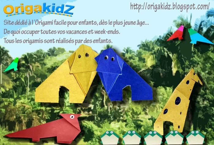 ORIGAKIDZ, Origami pour tous les enfants, même les grands