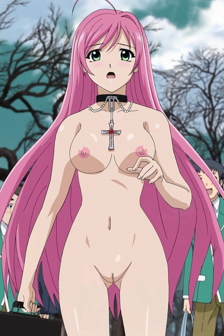 Rosario vampire uncensored sex pics