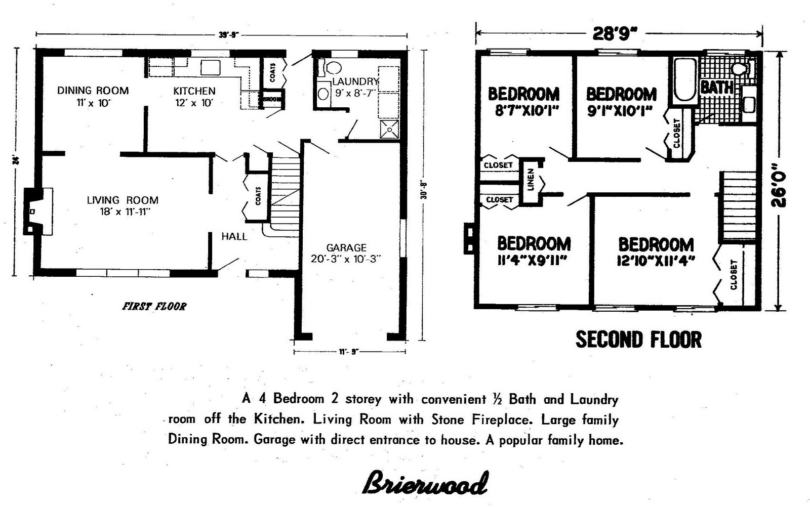 mid century modern and 1970s era ottawa january 2011 below i present the 1968 floor plans for lynwood by edstan