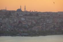 Atardecer en Istambul