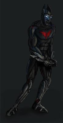Batman Beyond Concept Art