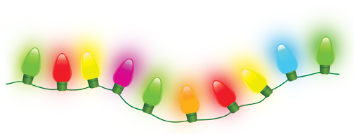 String Christmas Lights Together : bird on the wire: November 2010