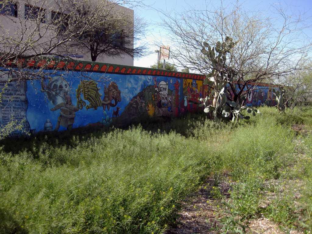 The tucson murals project famous hidden foot long