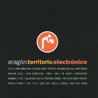 Aragón Territorio Electrónico Portada del disco