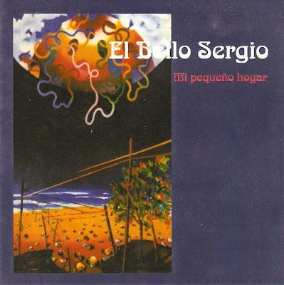 El Bello Sergio. Portada del disco Mi pequeño Holgar