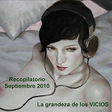 Portada Recopilatorio Música La grandeza de los VICIOS Septiembre 2010