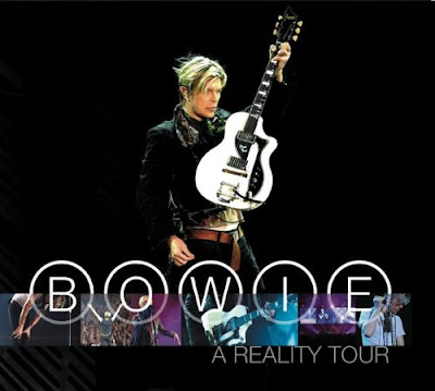 DAVID BOWIE - A Reality Tour PORTADA - CARATULA