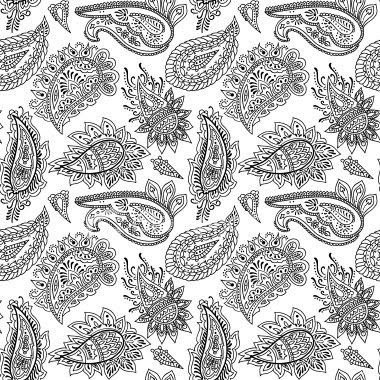 How to draw a Paisley Pattern - YouTube