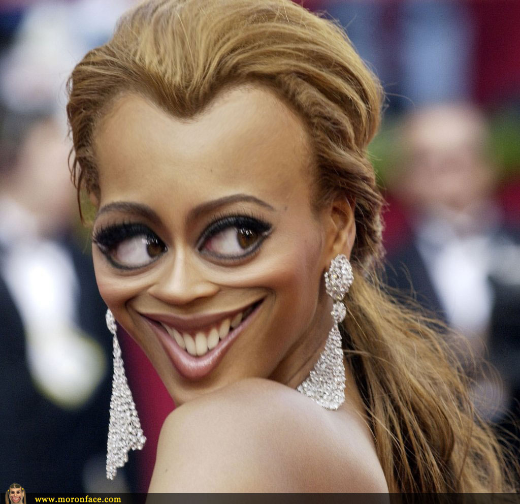 Beyonce making faces