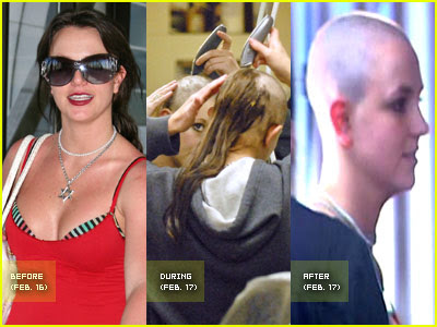 britney head off shaved spear